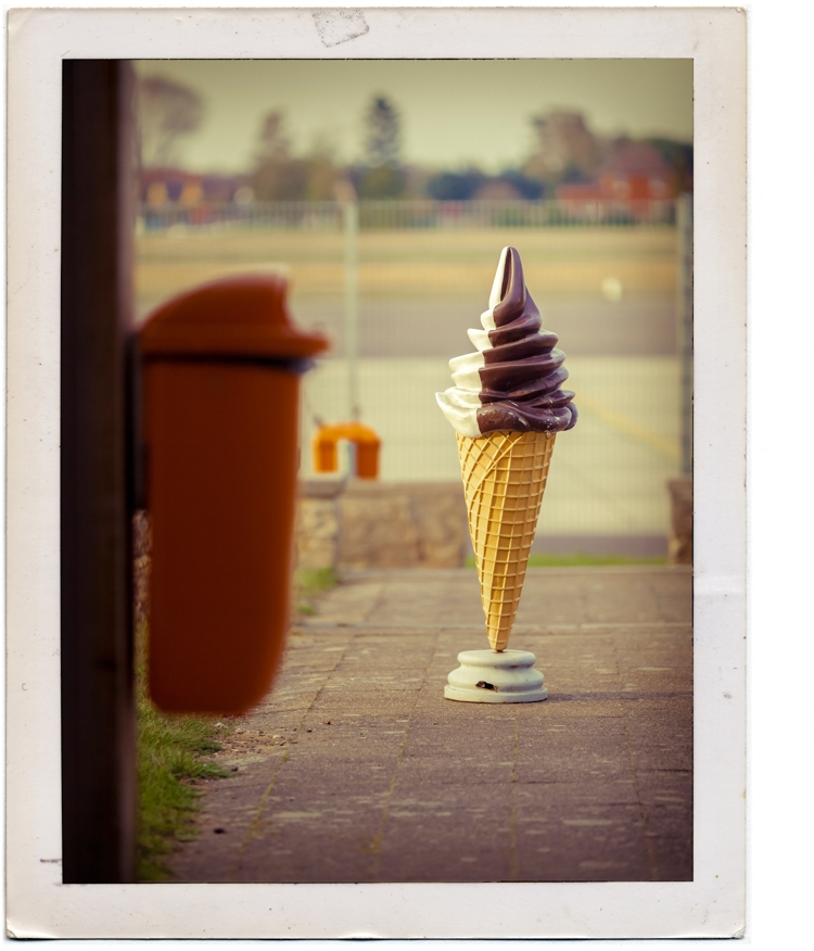ice cream (2014) heiner koether